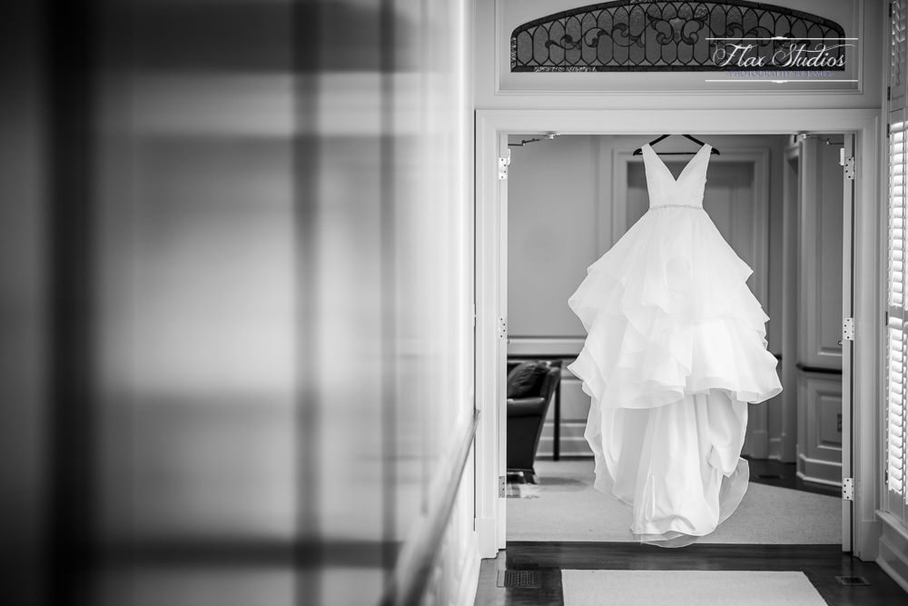 Wedding dress hanging pictures
