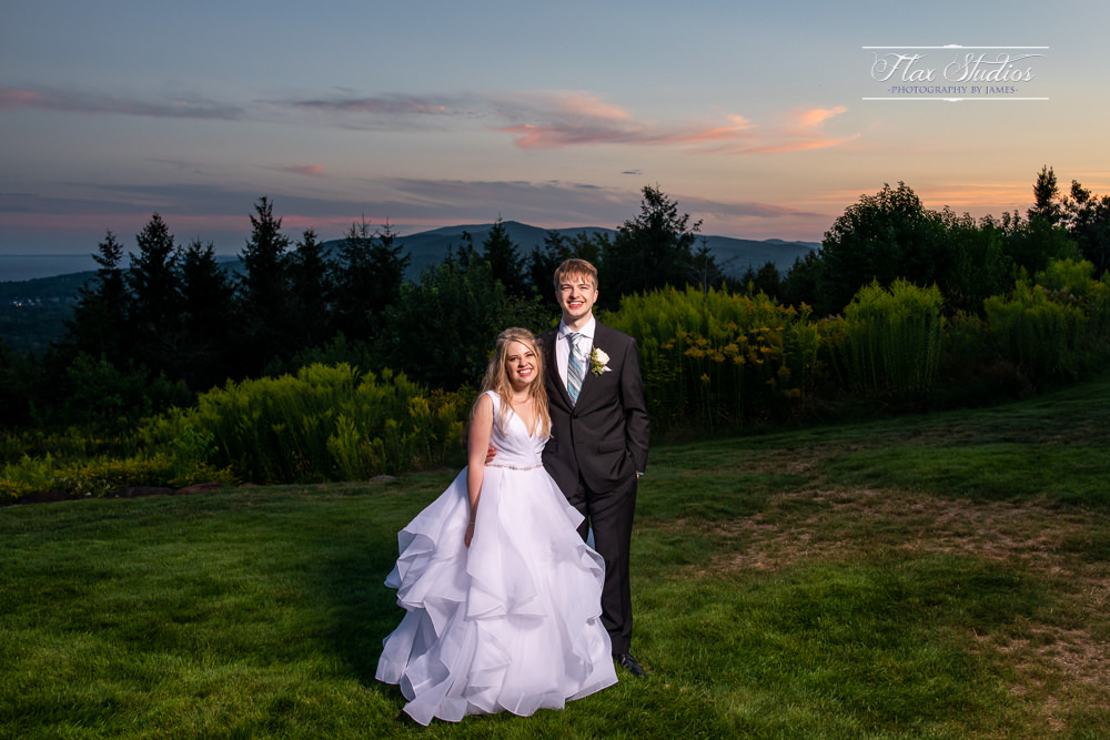 Sunset Off Camera Lighting Flax Studios
