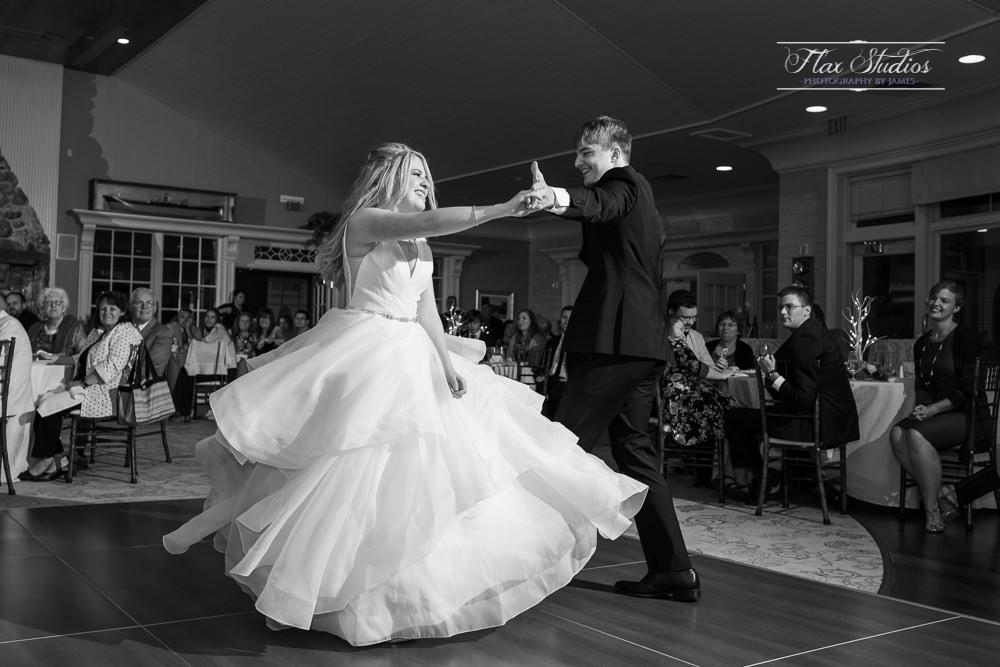 first dance spinning