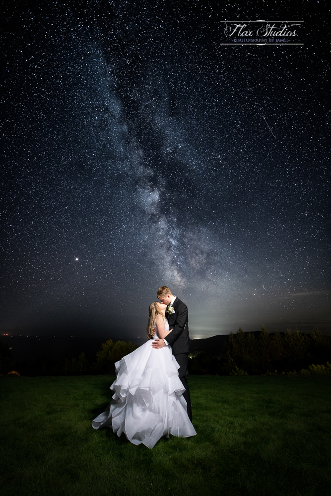 Maine Wedding Astrophotographer Flax Studios