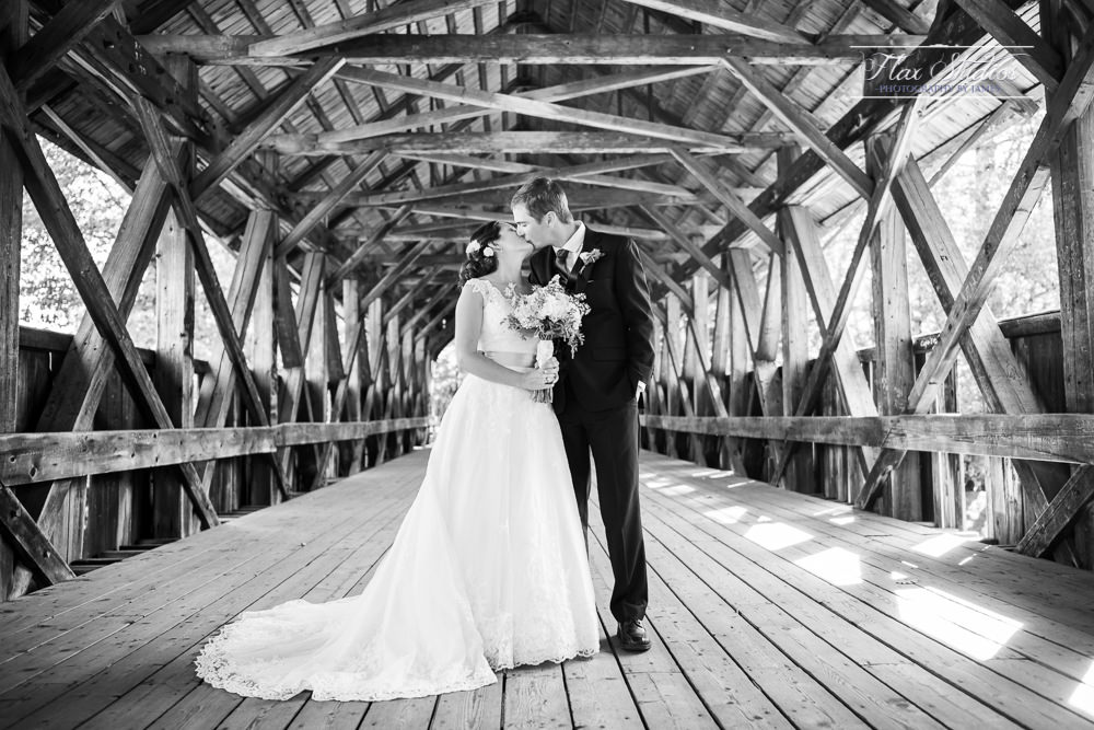 Sunday River Covered Bridge Wedding Flax Studios