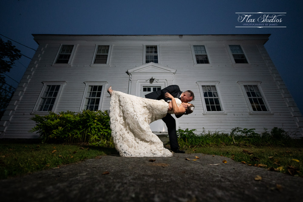 Creative Maine Wedding Photographers Flax Studios