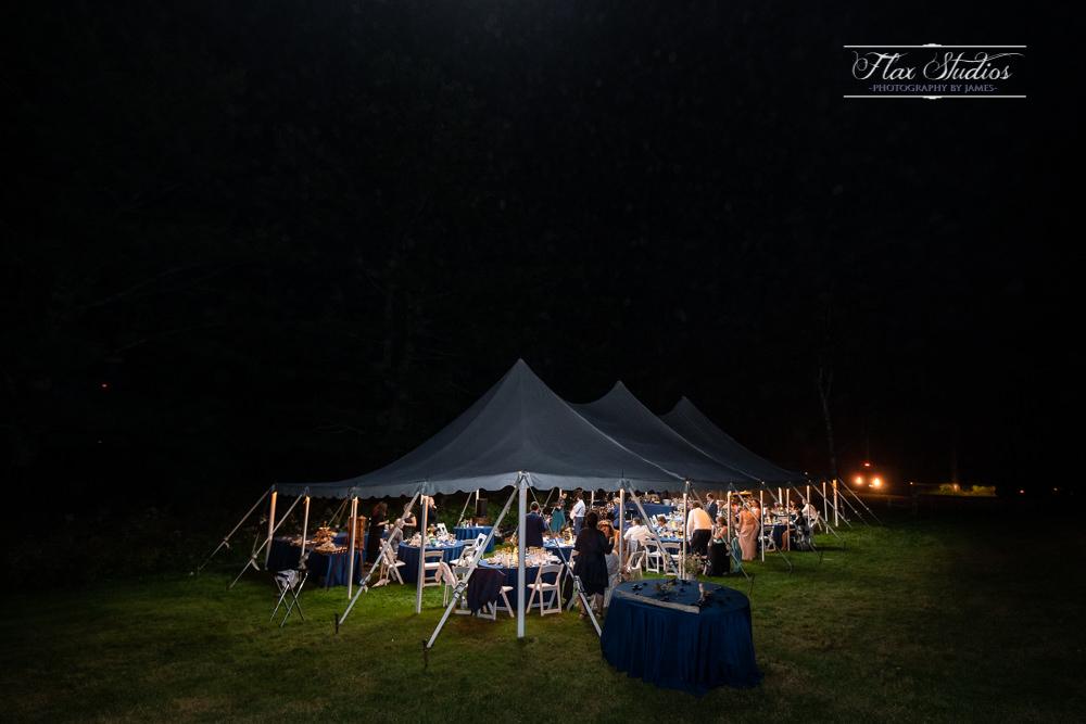 Maine wedding tent rentals
