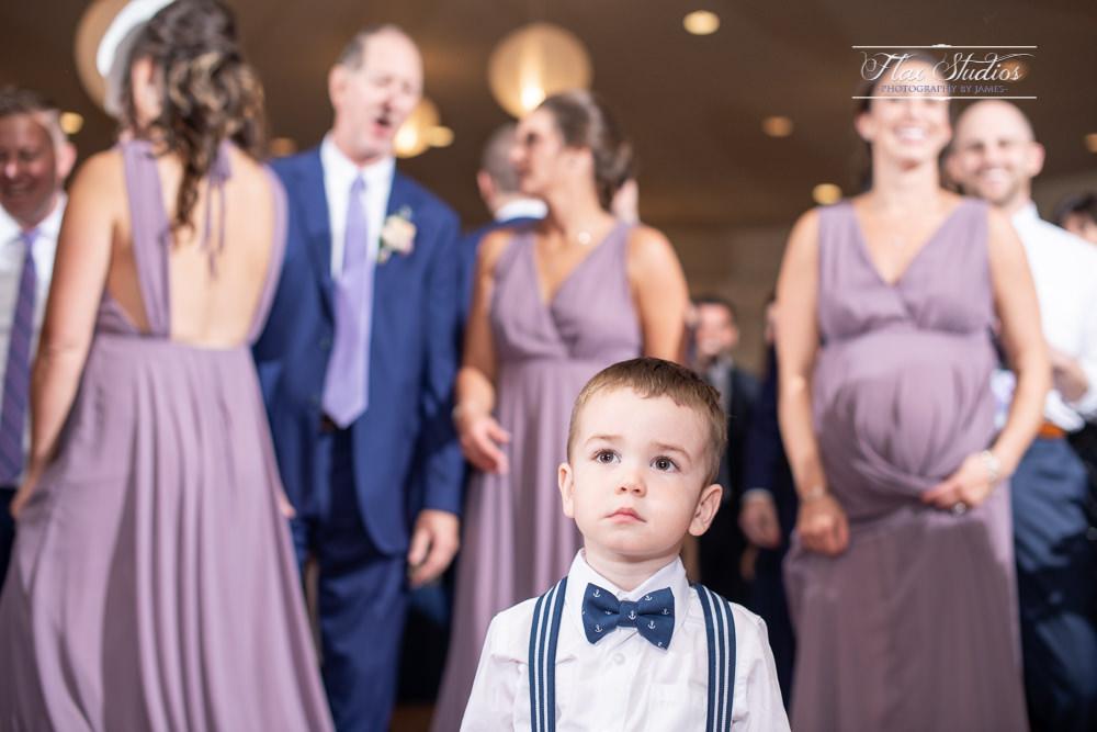 little boy on the dance floor