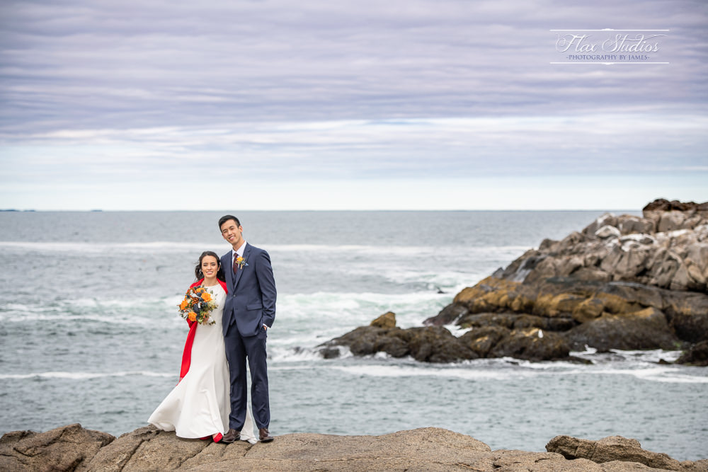 Nubble Lighthouse Wedding Photos