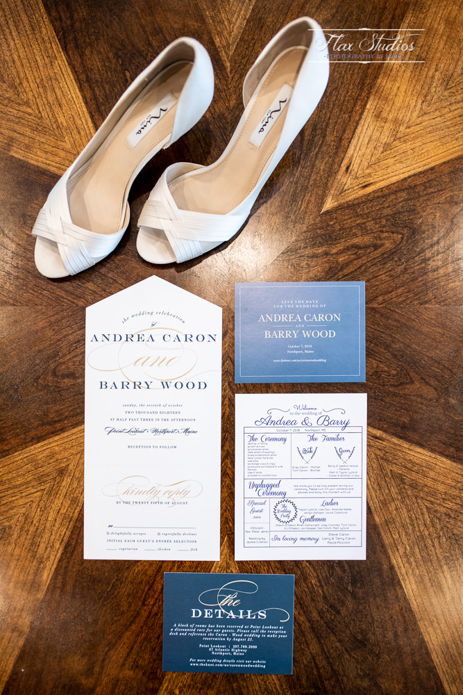 Wedding details and invitations