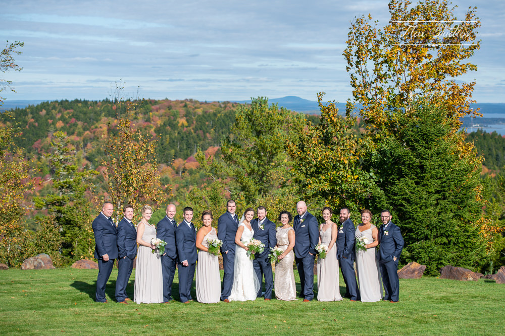 Scenic wedding locations in maine