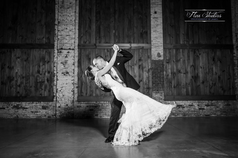 Thompsons Point Wedding Brick South Venue Flax Studios