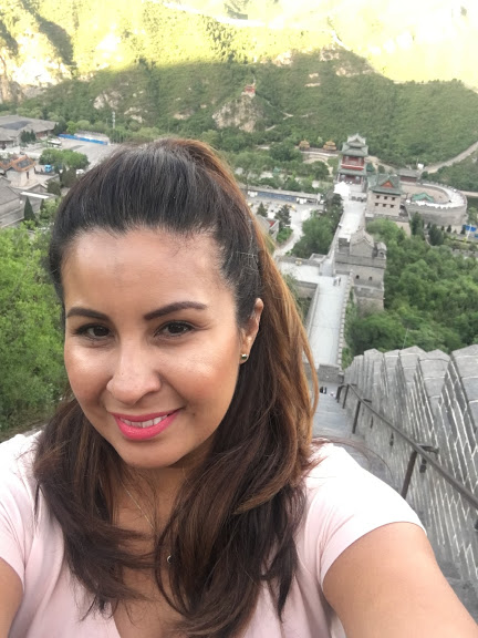 Once in a lifetime climb up the Great Wall.