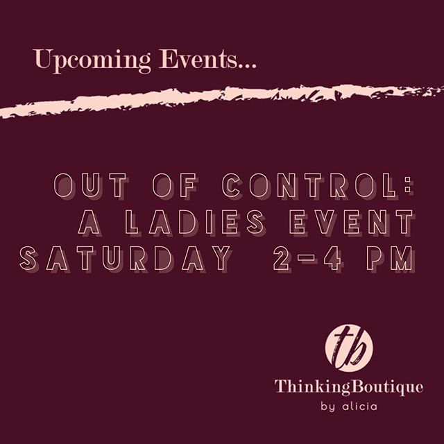 Gain knowledge of the different shapewear and undergarments that are available to women of all shapes and sizes.  We will have guest speakers, giveaways, fittings, lite bites and FUN!! Make it a Girls Day Out!! Can't wait to see you!!! #TBClass