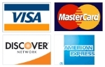 Carolina Carports accepts all major credit cards.