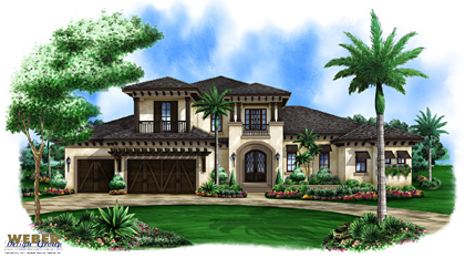 SuncorFL Rendering Of One of the Polo Ground Houses To be Completed