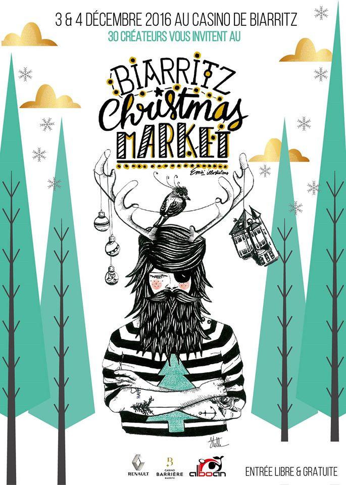 Jentil vous invite au Biarritz Christmas Market les 3 et 4 Décembre