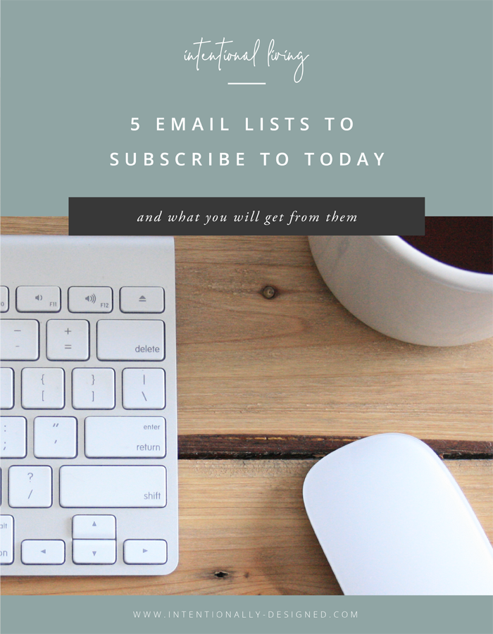 Favorite Email Lists