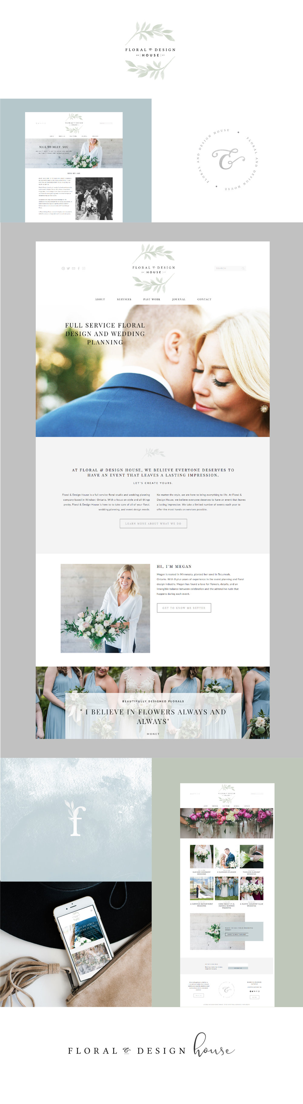 Brand + Website Design + Development