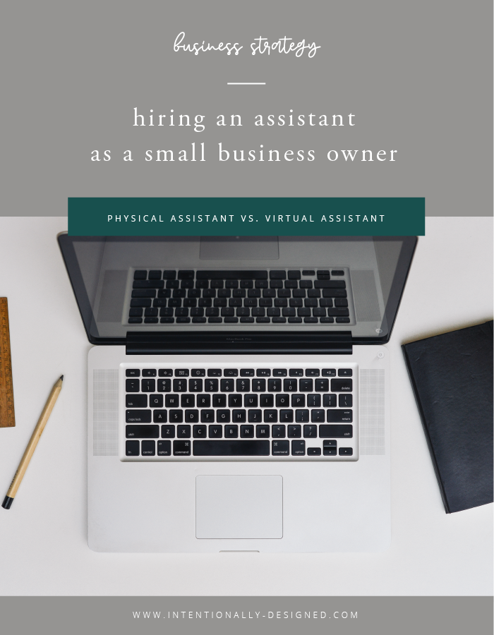 hiring an assistant as a small business owner