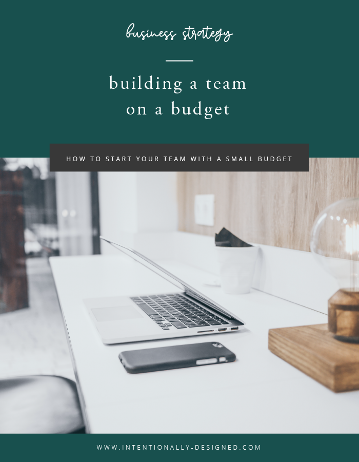 building a team on a budget