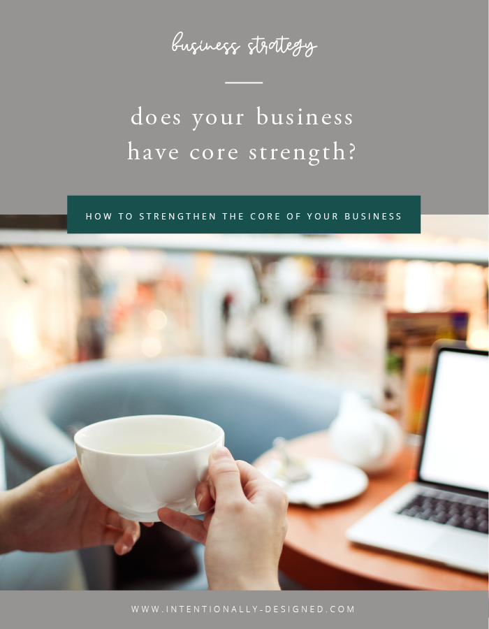 business core strength