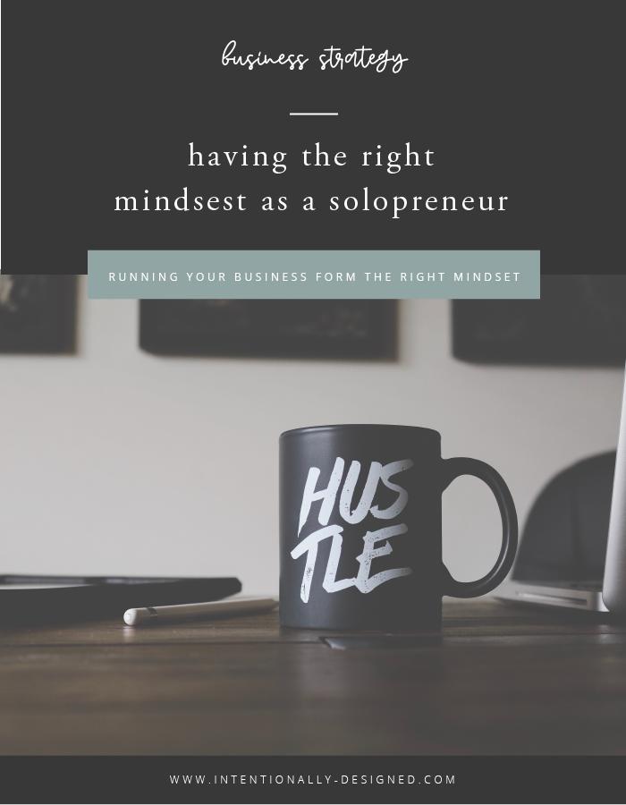 solopreneur mindset