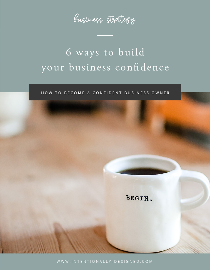 build business confidence