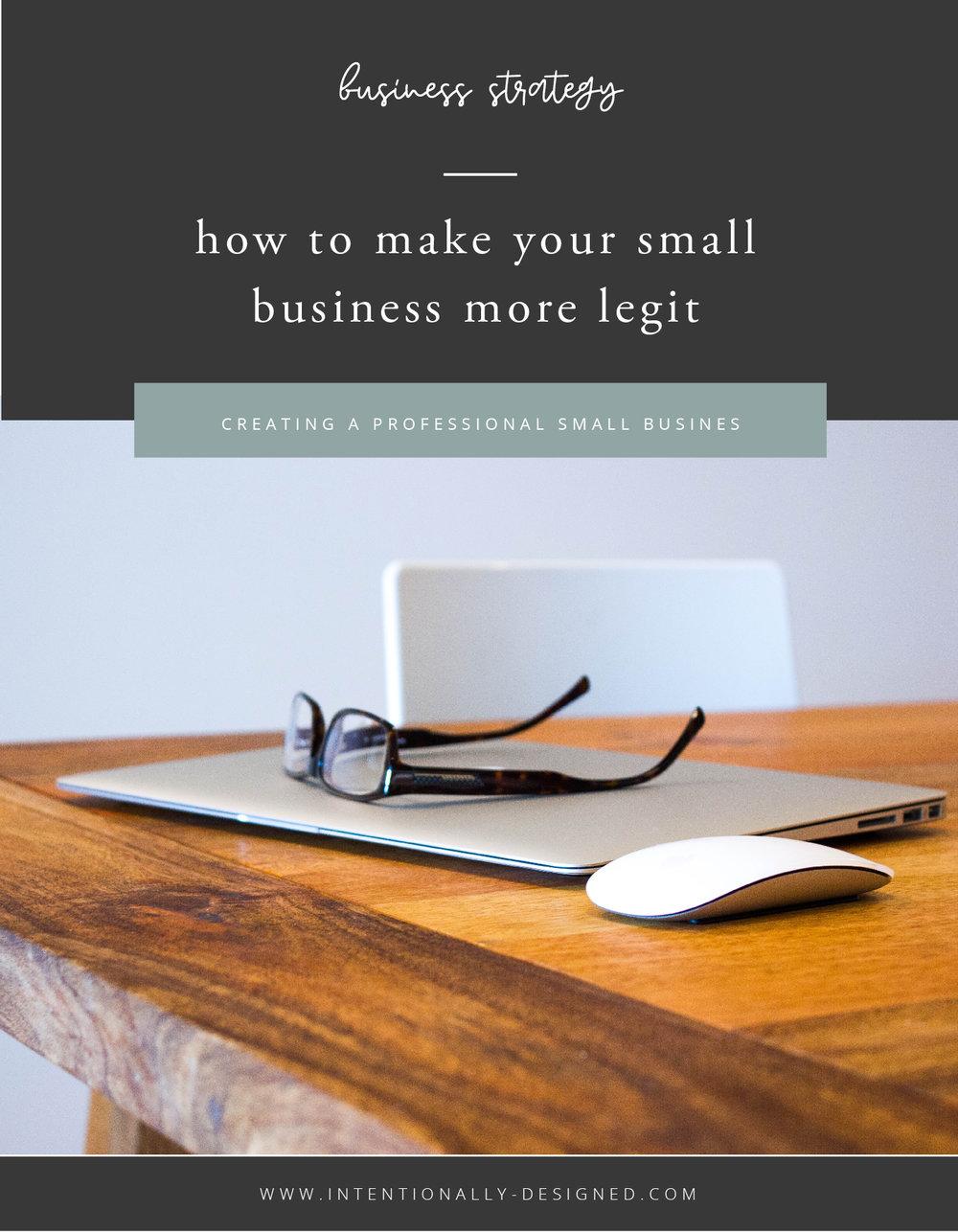 small business more legit