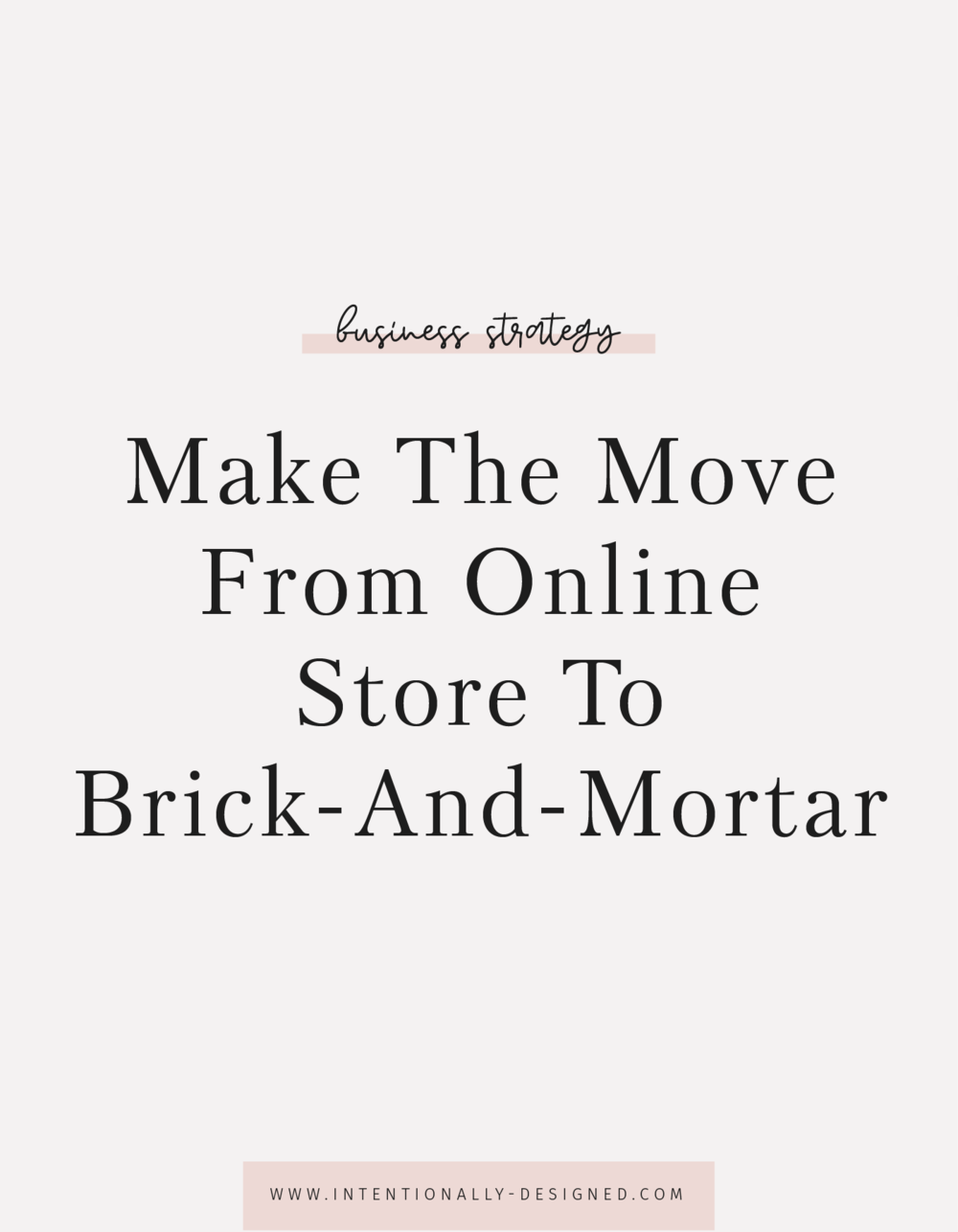 brick and mortar store
