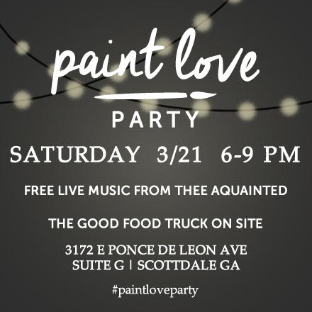 paintlovepartyinvite
