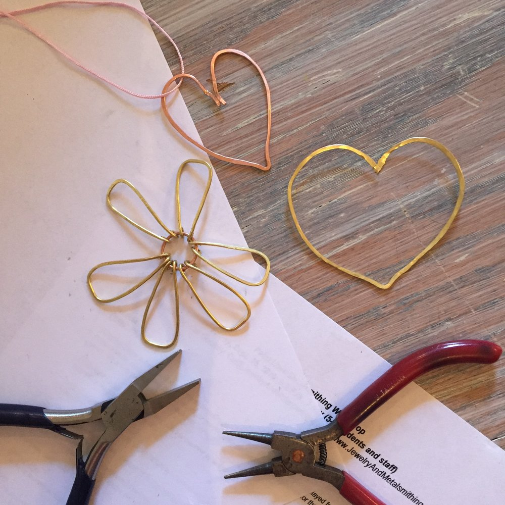 Metal Wire Workshop With Wellspring Living Paint Love How To A
