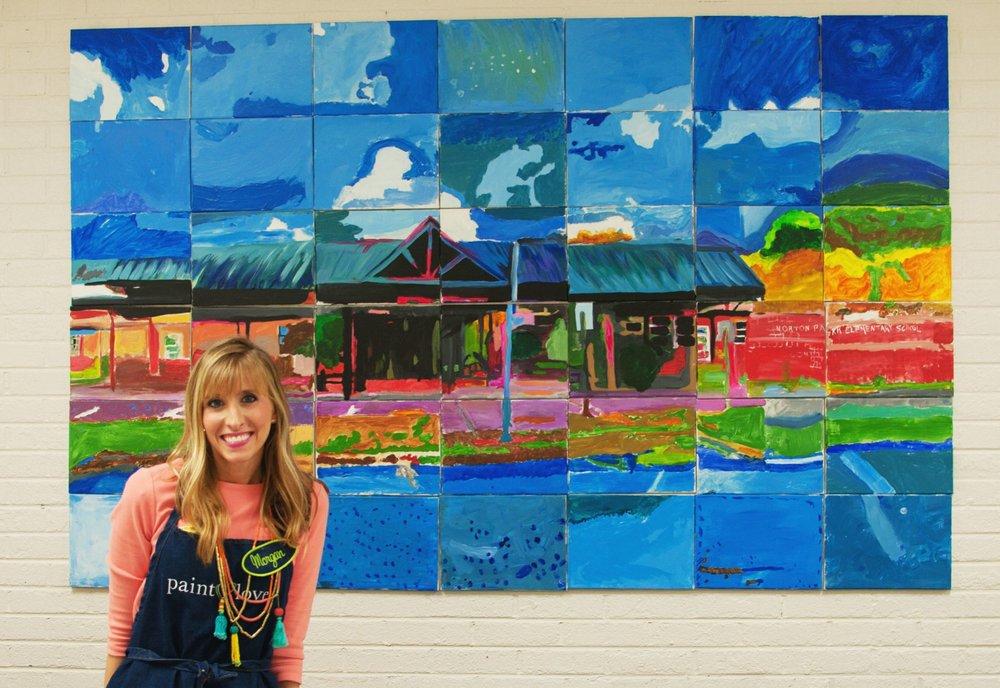 Norton Park Elementary Mural