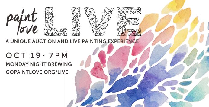 2017 Paint Love Art Auction Paint Love Live