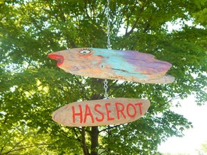 Remembering Francis Haserot in the park named for him.  Created by artist Keith Ashley.