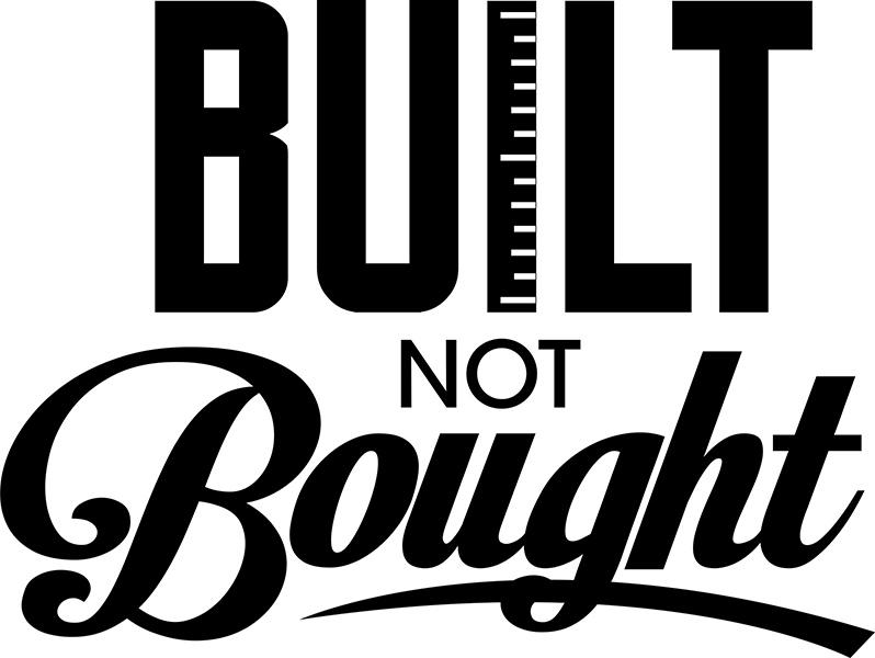 built not bought visual revolutionary