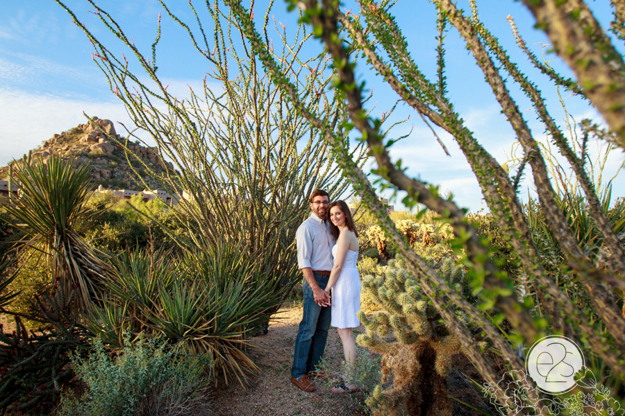 Eyes 2 See Photography Four Seasons Troon North Scottsdale Arizona Engagement Session
