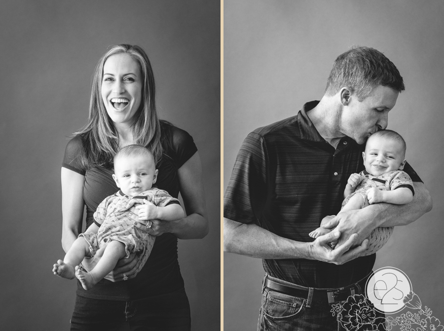 Paradise Valley Family Portrait Arizona Photography Baby Portraits