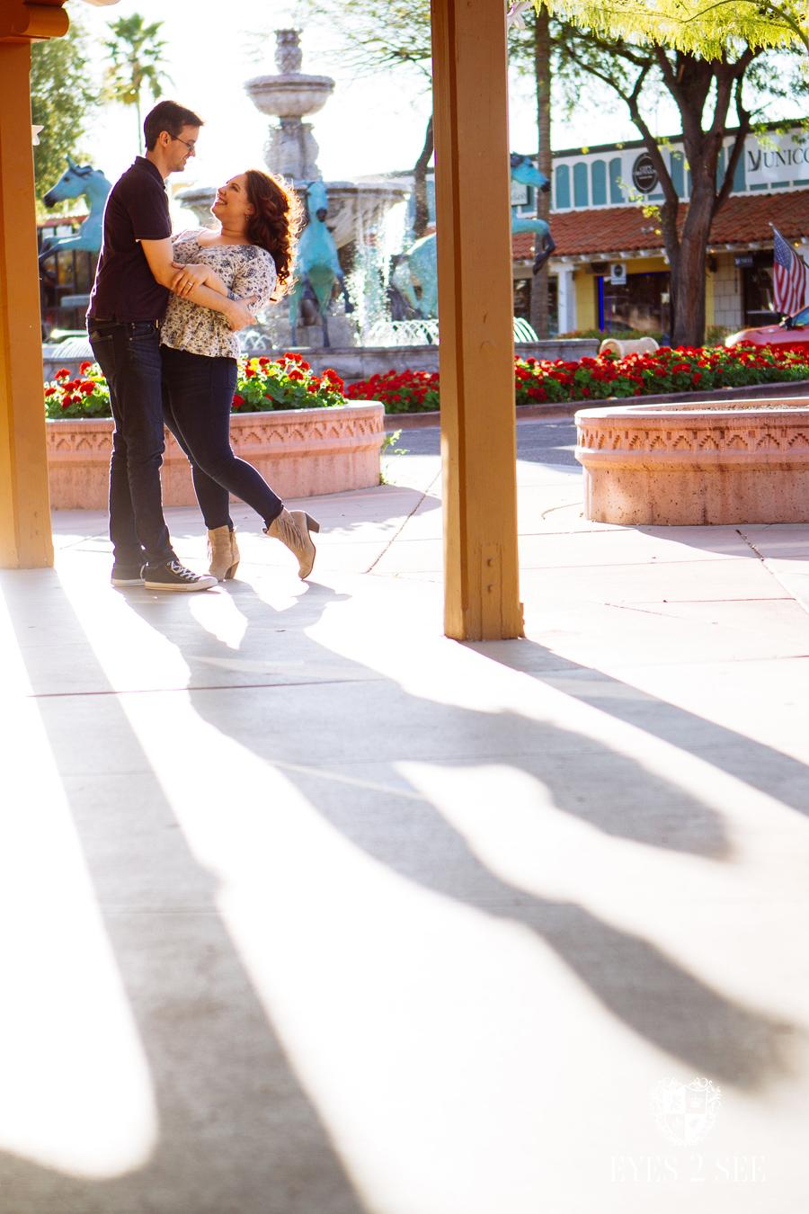 AZ Scottsdale Engagement Portrait Photography