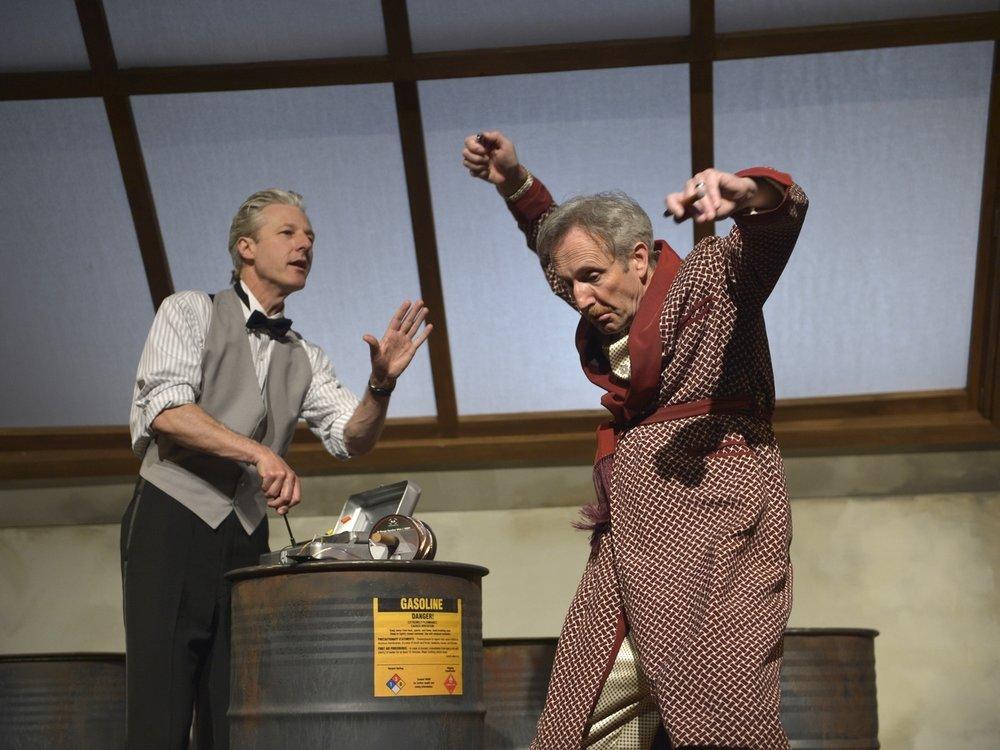 The Arsonists  Aurora Theatre Company 2013