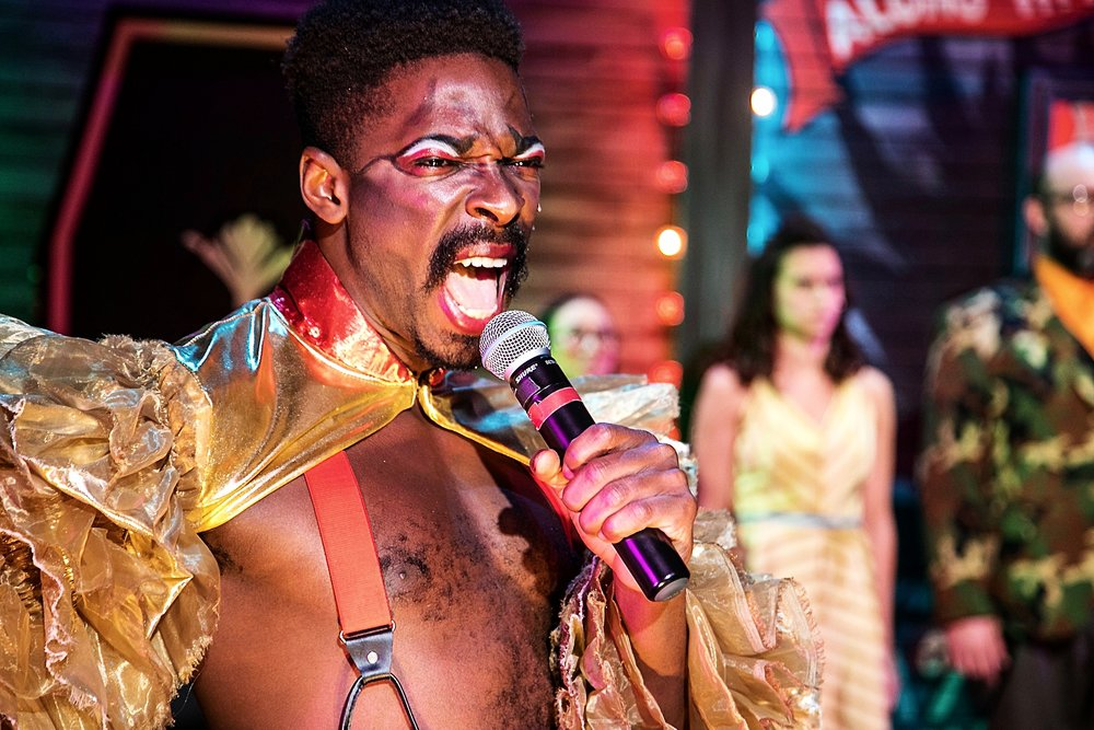 """""""Black Rider is a rare stage experience. To see it for the music alone would be reason enough, or the acting, for that matter, or simply for the sheer extravagance and theatricality of the production.""""     BERKELEYSIDE.COM"""