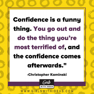 Confidence is a Leadership Skill from  www.gi  rlswithideas.com
