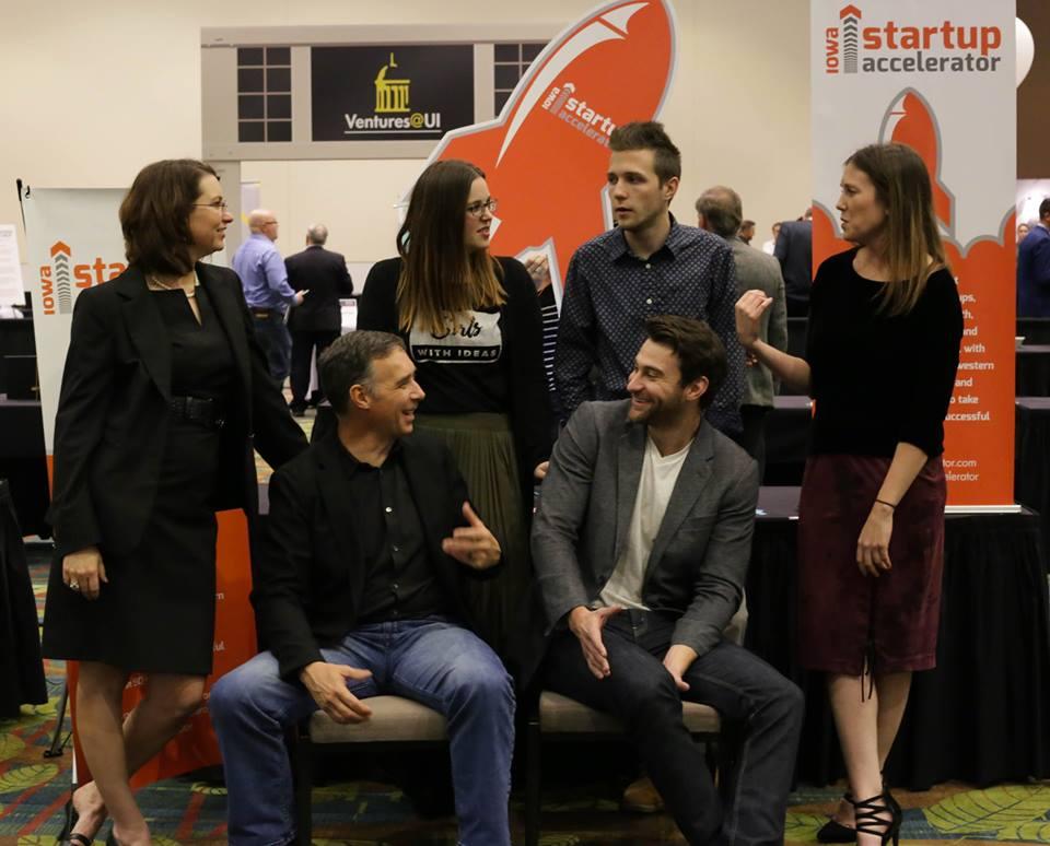 The Iowa Startup Accelerator CEOS - Photo by NewboCo