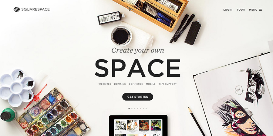 Image from Squarespace Stories