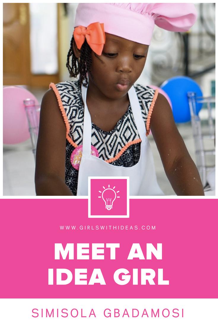 Meet an Idea Girl: Simisola Gbadamosi from  www.gir  lswithideas.com