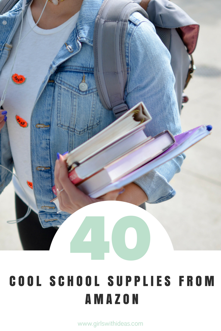 Gift Guide: 40 Cool School Supplies from Amazon