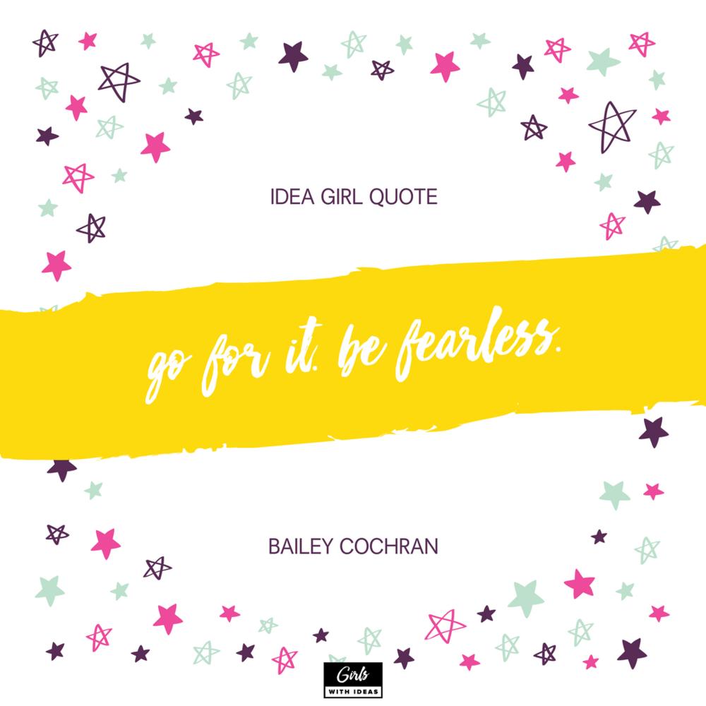 Meet an Idea Girl: Bailey Cochran from   www  .  gir    lswithideas  .  com