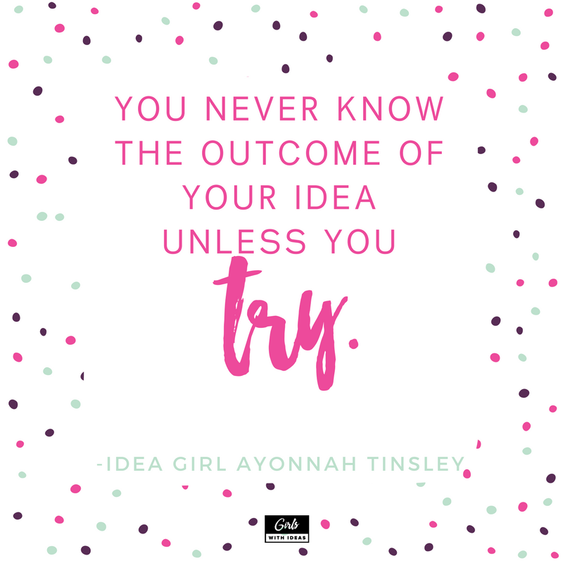 Meet an Idea Girl: Ayonnah Tinsley from   www  .  gi    rlswithideas  .  com