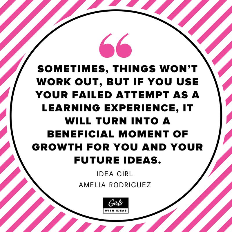 Meet an Idea Girl: Amelia Rodriguez from  www.girl  swithideas.com