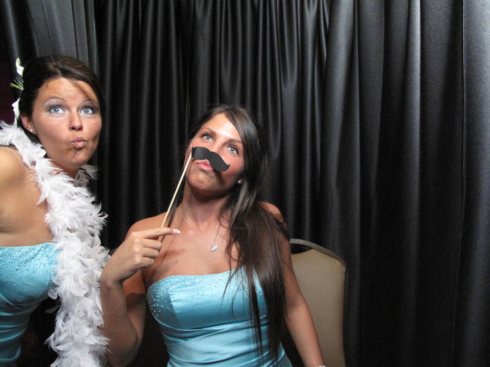 Snapshot Photobooths at Versailles Ballroom at the Ramada Inn, in Toms River, NJ