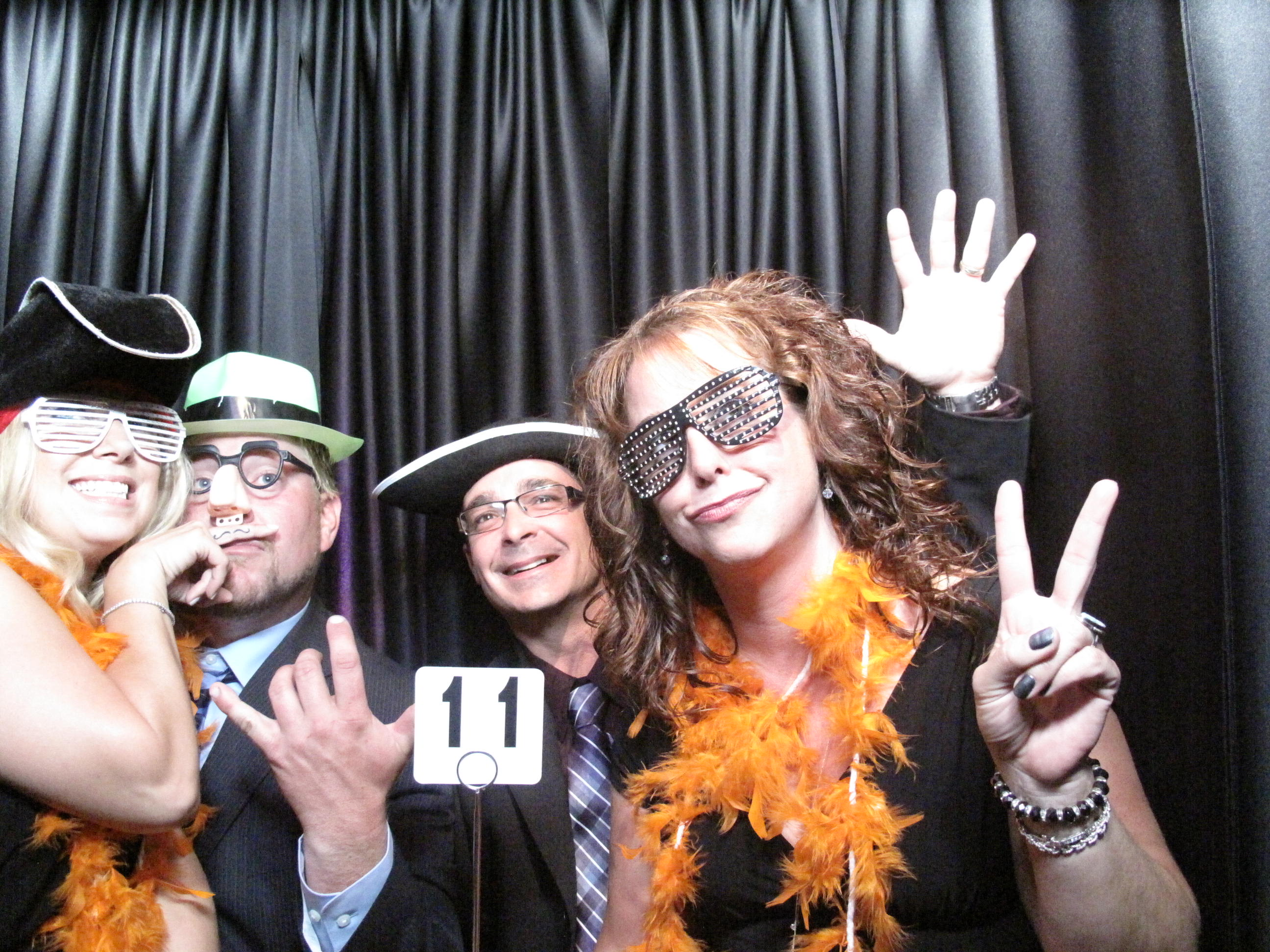 Snapshot Photobooths at the Hilton Hotel in East Brunswick