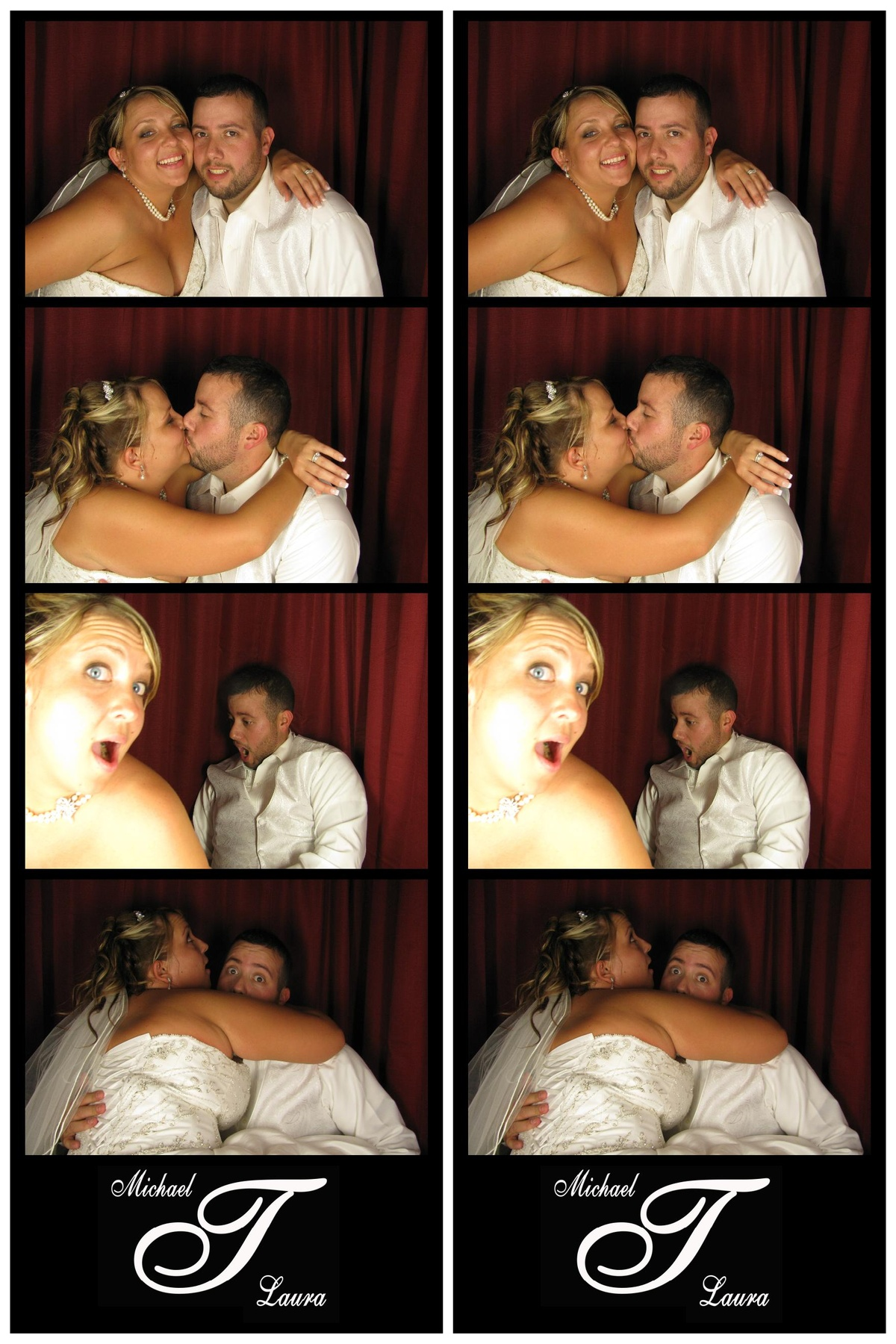 Michael & Laura - Snapshot Photobooths NJ Photo Booth Rentals