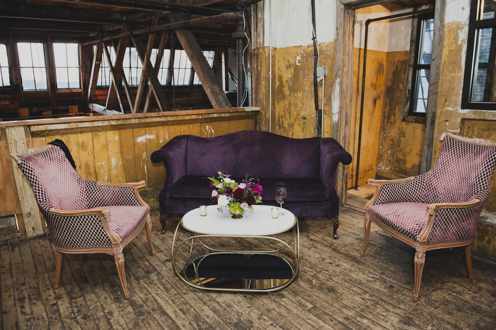 Ultra Violet Wedding Decor