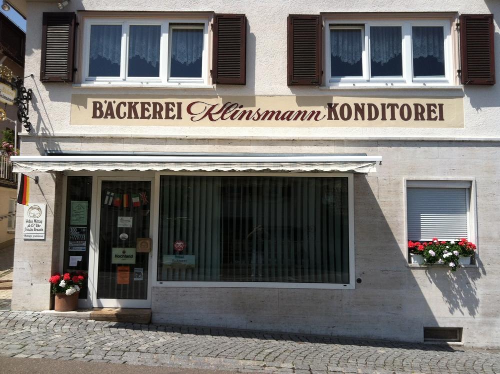 Jürgen Klinsmann's family bakery in Stuttgart.